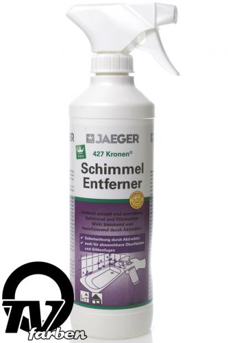 jaeger kronen schimmel entferner 427 schimmelspray anti schimmel spray 1l ebay. Black Bedroom Furniture Sets. Home Design Ideas